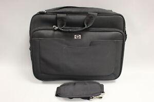 """HP Notepack Laptop Carrying Case Bag w/ Shoulder Strap - 14"""" - 17"""" - Black"""