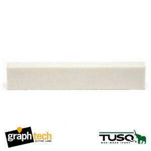 "GraphTech PQ-4025-00 TUSQ Blank Guitar Nut / Saddle Slab 1/4"" Thick"