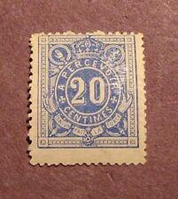 Belgium Scott# J2 Postage Due 1870 MLH  C24