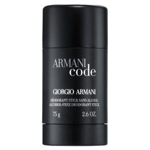 Armani Code 2.6 oz / 75 g Alcohol Free Deodorant Stick