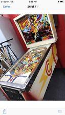 "** Vintage Allied ""Thunderbolt"" Pinball Machine** Needs Work / AS-IS"