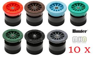 10x HUNTER A Düsen 0-360° zur Auswahl / Versenkregner / Bewässerung