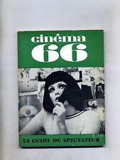 CINÈMA 66-Le Guide Du Spectateur N. 110#Federation Francaise des Cinè Clubs 1966