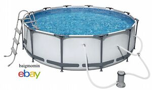 Hydro-Force Steel Pro Frame Pool Set 12-ft x 39.5-in