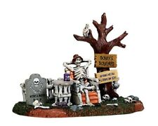 Lemax  Spooky Town 73296 Welcome To The Boneyard Halloween Neu