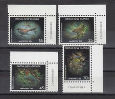 TIMBRE STAMP  4  PAPOUASIE  Y&T#520-23 OISEAU BIRD NEUF**/MNH-MINT 1986~A34