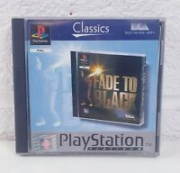 PS1 Sony Playstation 1 Fade To Black Platinum Game with disc and manual