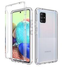 For Samsung Galaxy A71 5G A51 Clear Shockproof Case Armor Hybrid Crystal Cover