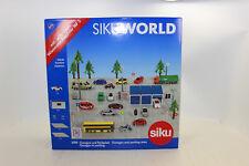 Siku 5589 Garage und Parkplatz mit Fahrzeug NEU in OVP