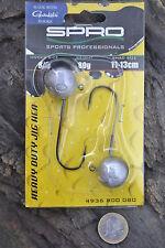 Spro Round Jighead Jigkopf HD Jig 90 Gamakatsu Haken Twister Shad 20g bis 150g