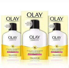 3 Olay Complete Lotion Moisturizer SPF 15 Normal 6 Fluid Ounce Priority
