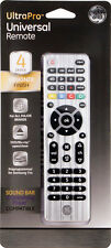 GE Ultra Pro UNIVERSAL REMOTE CONTROL 4-DEVICE for ALL MAJOR BRANDS TV DVD CABLE