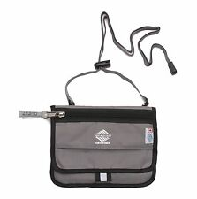 Aqua Quest Hipster Travel Pouch Wallet with Waterproof Compartment - Gray