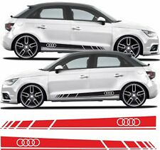 Audi A1 S1 RS1 sport Side Stripes Graphics Decals Stickers Vinyls any colour