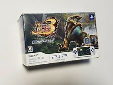 PSP-3000 console Monster Hunter 3 Limited white/blue PlayStation Portable system