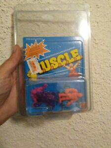 M.U.S.C.L.E. Class A 4 Pack #123p Sealed Carded MOC Mattel 1985 Vintage Toys 80s