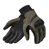 Guanti moto Revit Rev'it Hydra 2 h2o dark green impermeabili autunno inverno
