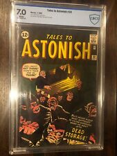 Tales To Astonish #33 CBCS 7.0 White Pages 1962 Send to CGC F/VF GRADE! WOW NICE