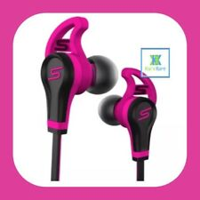 SMS Audio STREET by 50 Cent In-Ear Wired Sport Pink in Ear Headphones - FREE P&P