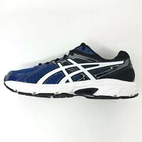 Asics Gel Contend 2 Running Shoes C406N, Royal Blue Blk White Youth 6.5 US 39.5E