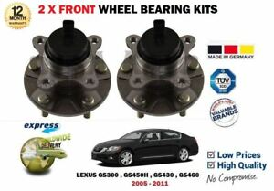 FOR LEXUS GS300 GS450H GS430 GS460 2005-2011 2 X FRONT WHEEL BEARING KITS SET
