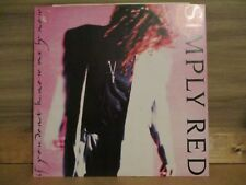 """Simply Red – If You Don't Know Me By Now    Vinyl 12"""" UK 1989 Funk   WEA YZ377T"""