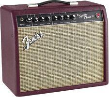 Fender Super Champ X2 Wine Red 1x10 15 Watt Tube Guitar Amplifier - Warrantied B