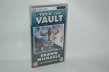 WWE FROM IL VAULT: SHAWN MICHAELS for PSP UMD FILM NUOVO E SIGILLATO