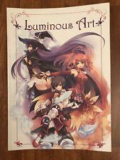 Luminous Art NDS JRPG Video Game Promo Art Book Atlus Manga Watercolor Rare