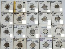 Sweden, lot of 28 silver coins - 10, 25, 50 Ore, Krona; 1855 - 1971