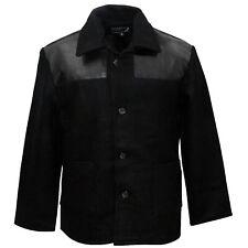 Donkey Jacket PVC Shoulders Heavy Wool Worker Skin Punk Mod Ska Un-Lined Jacke