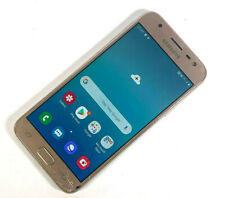 Samsung Galaxy J3 (2017) SM-J330F 16GB Gold (Unlocked) SMASHED SCREEN, WORKS 947