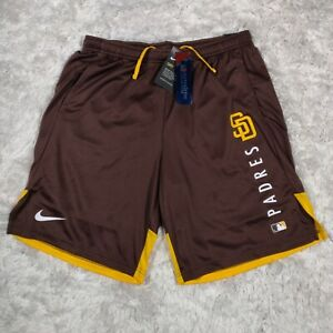 Nike San Diego Padres Authentic Collection Training Performance Shorts Large L