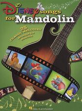 DISNEY Canzoni per Mandolino Scheda Libro di musica