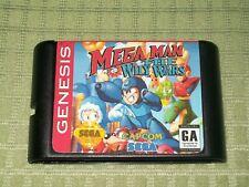 Mega Man The Wily Wars (Reproduction) (Sega Genesis) Cart Only Megaman Willy War