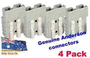 4 x GENUINE Anderson plug Connectors SB50 50amp