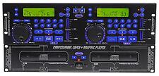 Vocopro CDG-9000 Pro DJ/KJ/Karaoke Dual CD/CD+G/CDG Player w Pitch Control