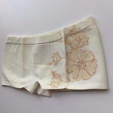 Brazilian Panties Boyshort Sleepwear Panty M-L Beige Sexy