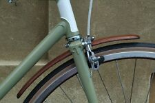 Parafanghi in Legno Per Bicicletta vintage fixed single speed wooden fenders
