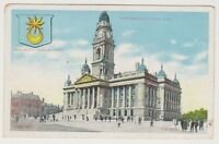 Hampshire postcard - Portsmouth Town Hall (A229)
