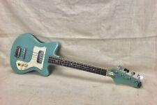Década de 1960 Topline Bajo Guitarra Escala Corta-hecho En Japón Teisco-Kawai Azul necesita TLC