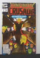 Infinity Crusade #1 (Marvel, 1993) Signed #464/10,000