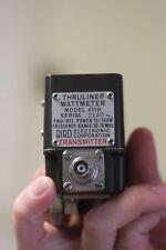 Bird Electronic Corporation Transmitter Thruline Wattmeter Model 4110