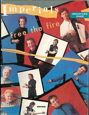 The Imperials Free The Fire songbook sheet music contemporary christian medium