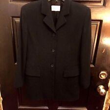 Emanuel Ungaro Black Single Breasted Blazer - Size PL