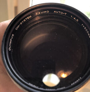 Olympus OM-System Zuiko Auto-T 300mm 4.5 Lens IN VERY GOOD CONDITION-SEE PICS
