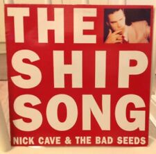 """THE SHIP SONG - NICK CAVE & THE BAD SEEDS - 12"""" MUTE 108 RECORD VINYL"""