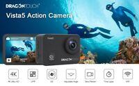 Premium Vista 5 Sports Remote Control 4K EIS Anti-Shake Action Camera +32GB Card