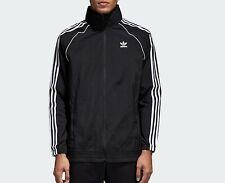 adidas Originals Mens SST superstar Windbreaker Jacket coat black XL NEW