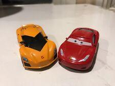 New Disney Pixar Cars Diecast Fabrizio Lamborghini & FERRARI F430 2 Pack RARE